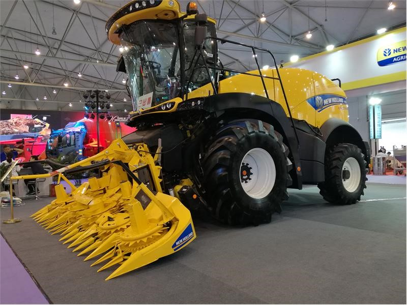 New Holland Agriculture's FR500 forage harvester expected to attract much attention at this week's China Dairy Exhibition 2018