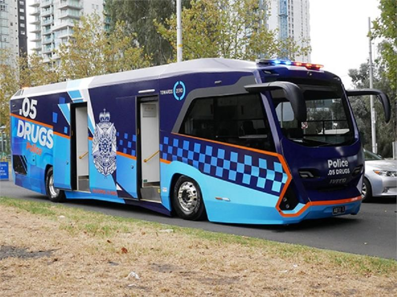Cutting-edge new IVECO buses join Victoria Police
