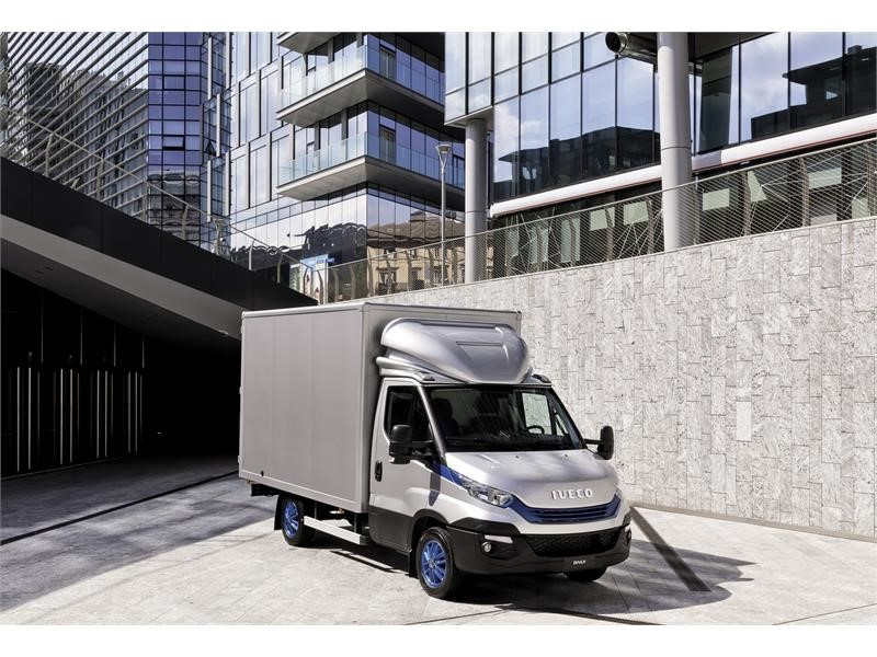 IVECO Daily celebrates 40 years of success recognised by millions of customers around the world and prestigious international awards