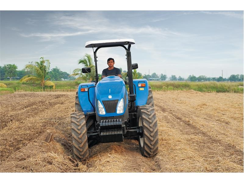 For Myanmar's farmers, New Holland's TT4.75 tractor makes even the hardest tasks easier