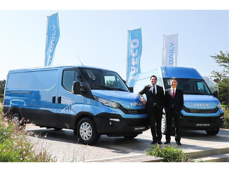 IVECO launches the New Daily in South Korea: Business Instinct for the transport industry