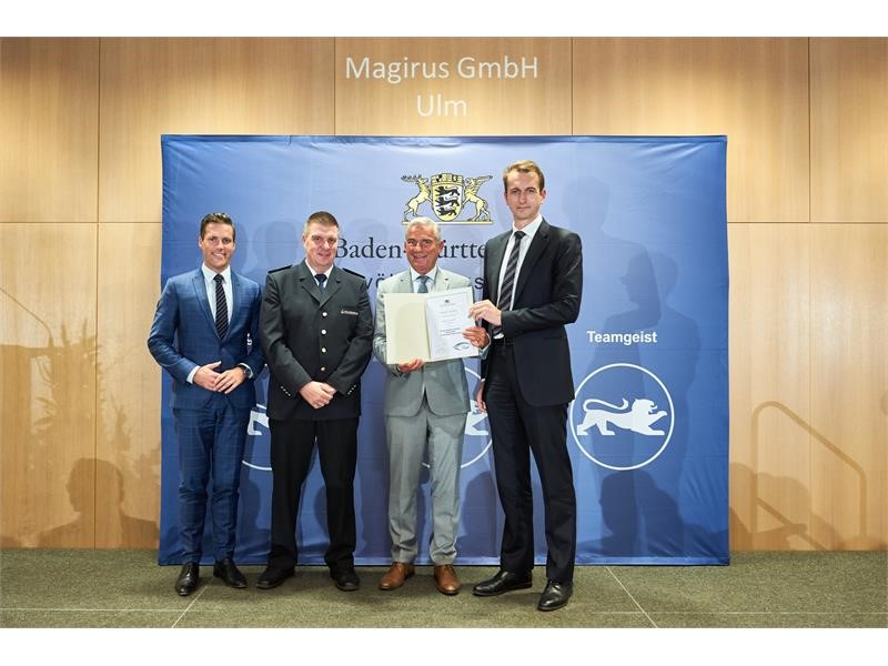 Magirus honoured as a volunteer-friendly employer
