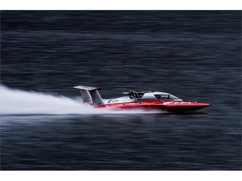 FPT INDUSTRIAL POWERS FABIO BUZZI IN THE DIESEL POWERBOAT GUINNESS WORLD SPEED RECORD: MORE THAN 277 KM/H