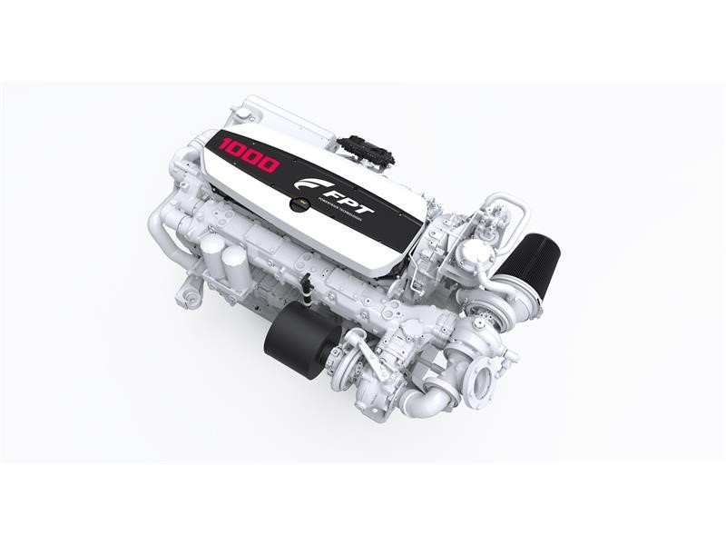 FPT INDUSTRIAL UNVEILS THE NEW C16 1000 MARINE ENGINE AT 2018 CANNES YACHTING FESTIVAL