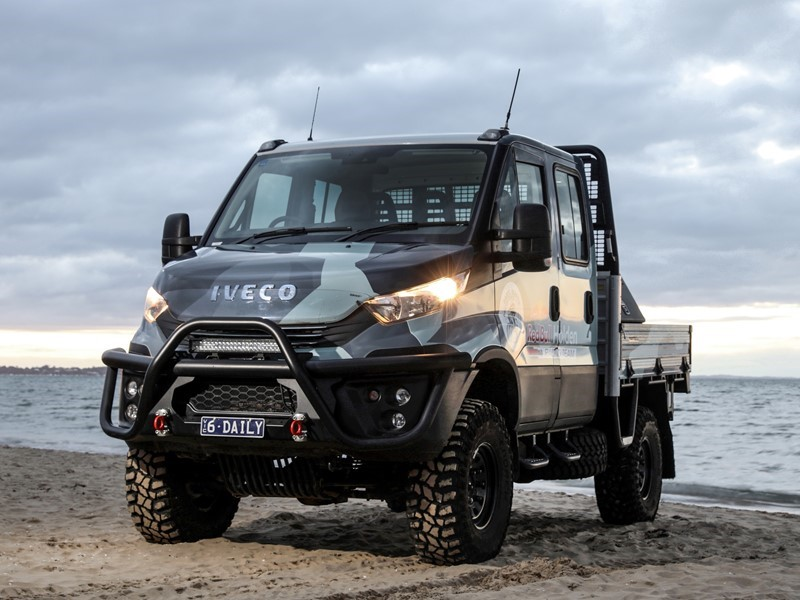 NEW IVECO DAILY 4X4 GAINS EXTRA SAFETY TO GO WITH LEGENDARY OFF-ROAD PERFORMANCE