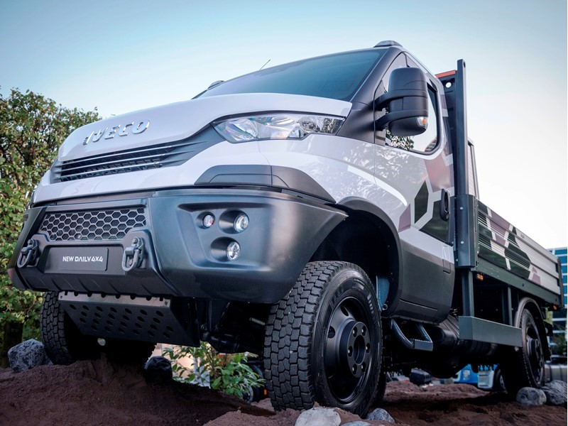 IVECO launches new Daily 4x4 full line up offer of all-road and off-road go-anywhere vehicles up to 7 tonnes GVW