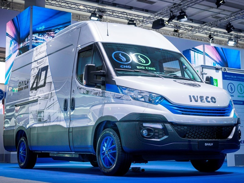 IVECO launches Daily Limited Edition at IAA 2018 show to celebrate the vehicle's 40th Anniversary and Van of the Year Award 2018