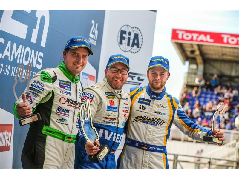 IVECO triumphs at the European Truck Racing Championship 2018 with The Bullen of IVECO Magirus taking the team title and Jochen Hahn the drivers' c...