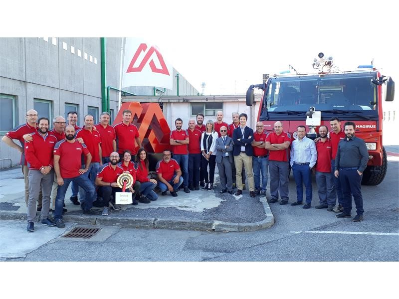 The Magirus Fire Fighting plant in Brescia, Italy achieves Bronze Level designation in World Class Manufacturing