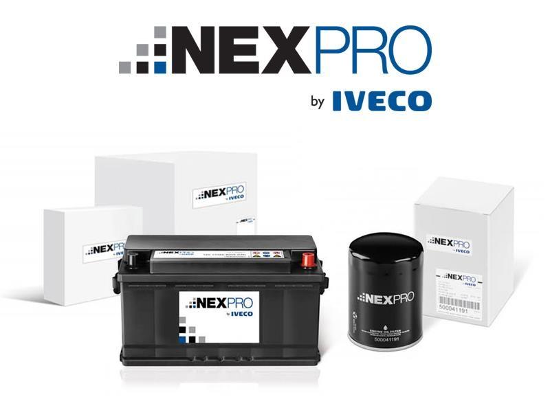 IVECO выводит на российский рынок новый бренд NEXPRO by Iveco для второй линейки запасных частей