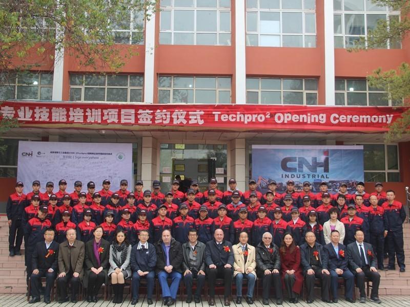 凯斯纽荷兰工业集团TechPro²培训项目扩展至新疆地区