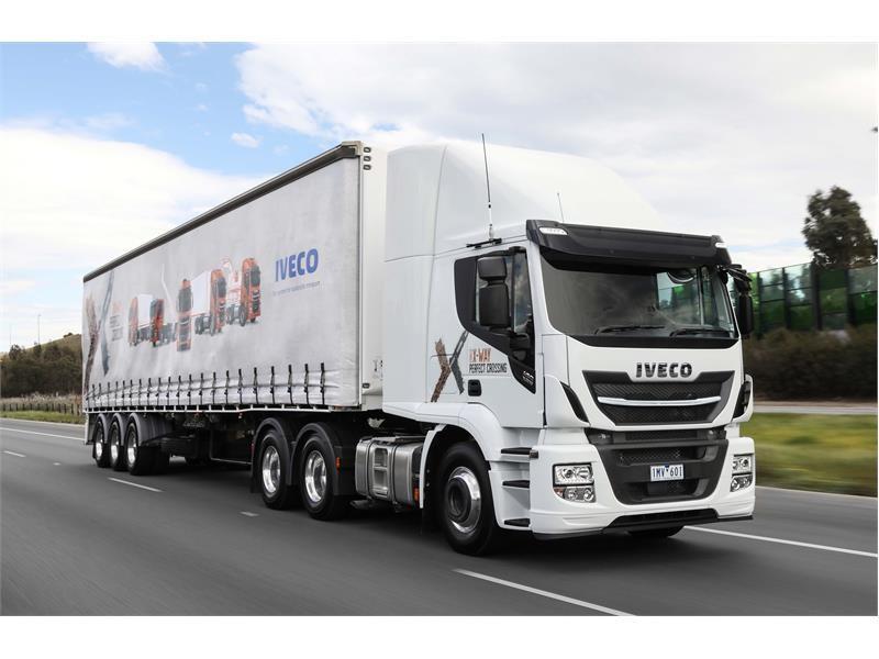 IVECO launches Australian-built Euro 6 Stralis X-Way range