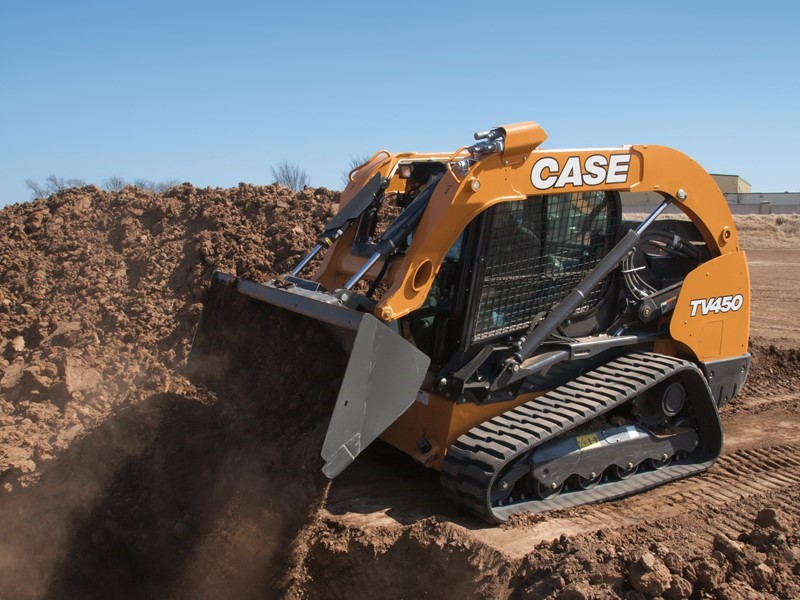 CASE Introduces All-New TV450 Compact Track Loader