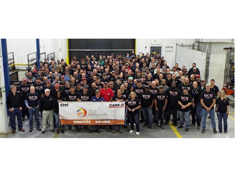 The Case IH Goodfield plant in the U.S.A. achieves Bronze Level designation in World Class Manufacturing