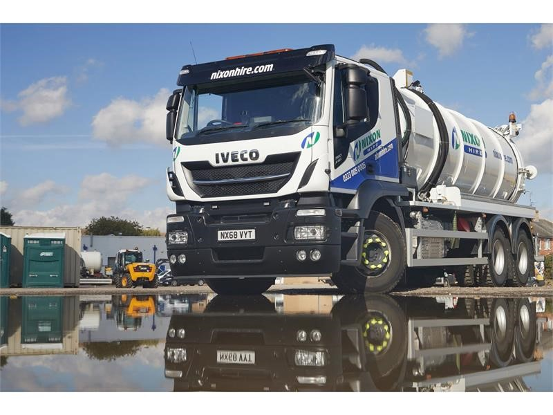 IVECO's Stralis X-Way is just the job for Nixon Hire