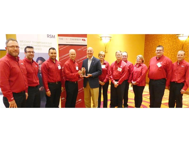 Case IH Grand Island plant named 'Large Manufacturer of the Year' by the Nebraska Chamber of Commerce & Industry