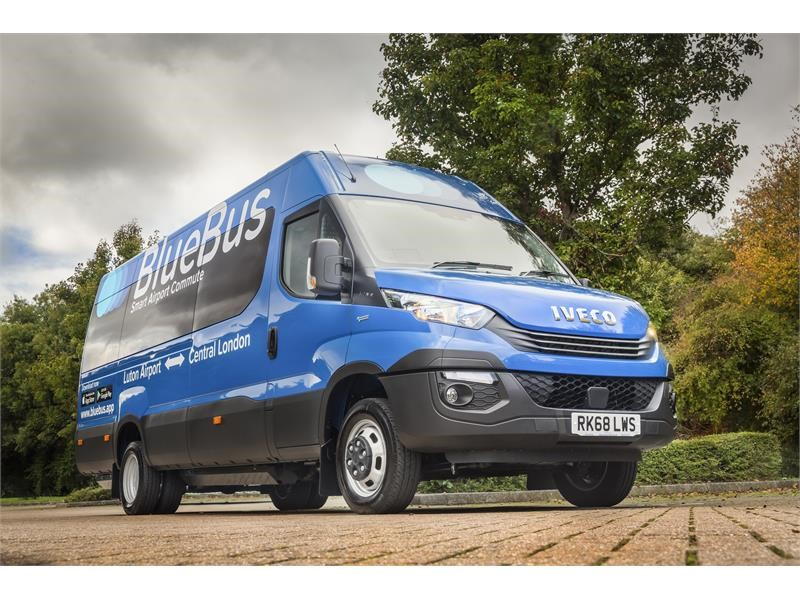 Trailblazing Blue Bus Innovations becomes first UK operator to run CNG minibuses with three IVECO Daily Lines joining fleet