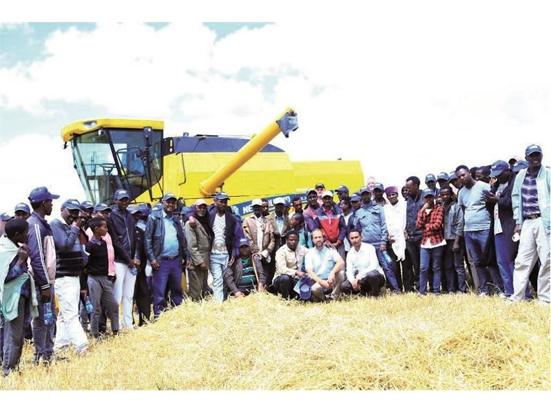 New Holland has demonstrated New TC5.30 in Ethiopia