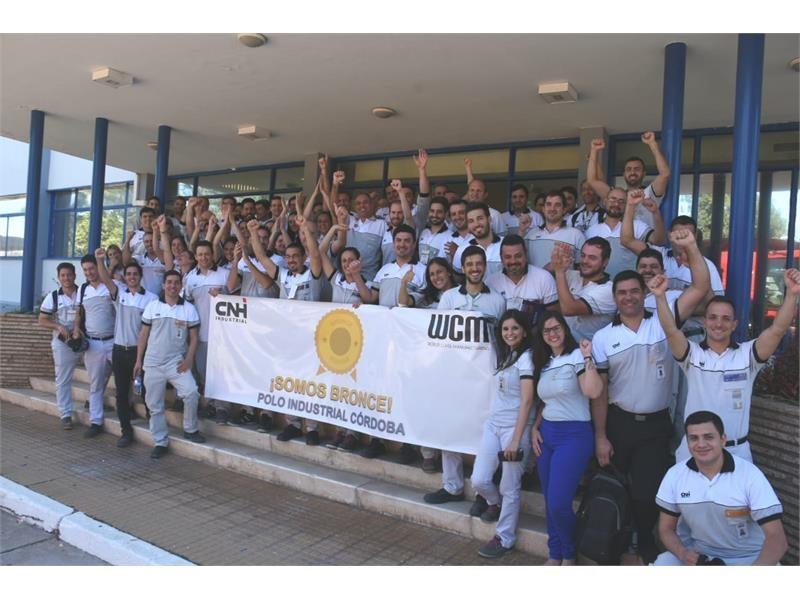 The CNH Industrial site in Córdoba, Argentina, achieves Bronze Level designation in World Class Manufacturing