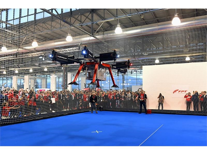 FPT INDUSTRIAL SUPPORTED FORVOLA BREAKING GUINNESS WORLD RECORD OF HEAVIEST LOAD CARRIED BY A DRONE