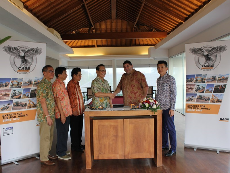 CASE Construction Equipment expands its presence in Indonesia