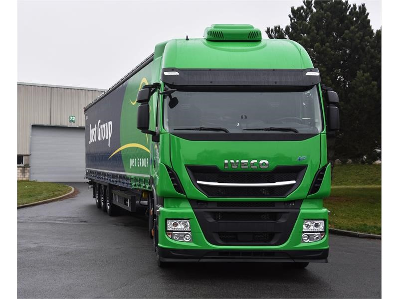 IVECO officially delivers 30 Stralis NP trucks to Jost Group, which is targeting 35% conversion of its fleet to LNG by 2020, making a step forward ...