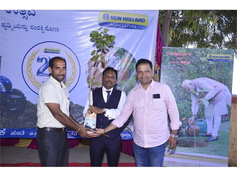 Karnataka dealer embraces New Holland values of sustainable agriculture on his wedding day