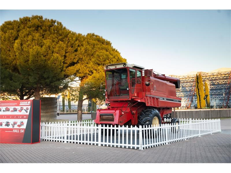 First Axial-Flow combine in Europe returns to SIMA four decades after making its debut