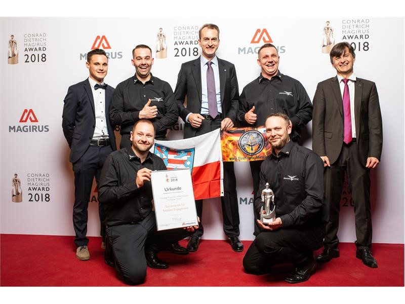 "São Paulo Fire Department is ""International Firefighting Team of the Year 2018"""