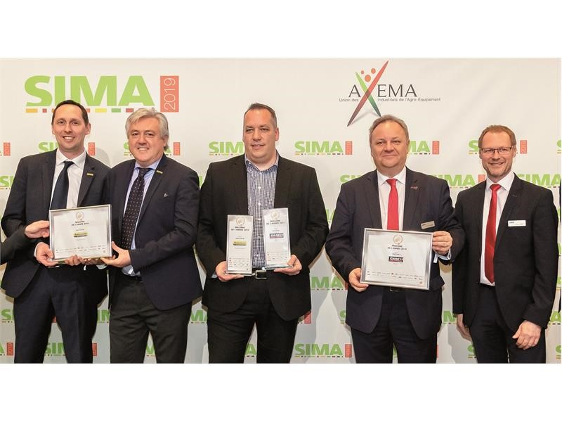 Case IH and New Holland Agriculture awarded 'Machine of the Year' titles at SIMA 2019