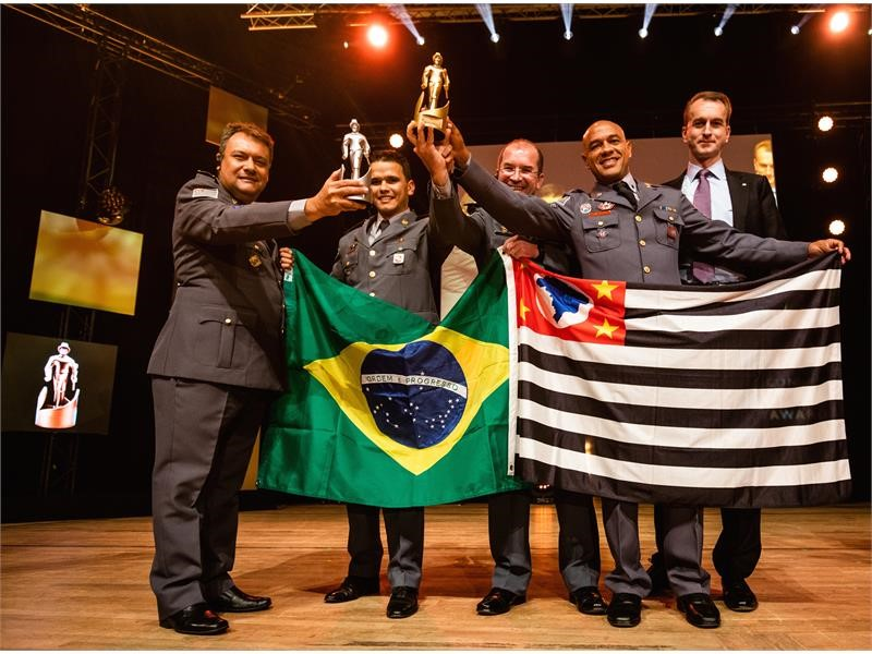 """São Paulo Fire Department is """"International Firefighting Team of the Year 2018"""""""