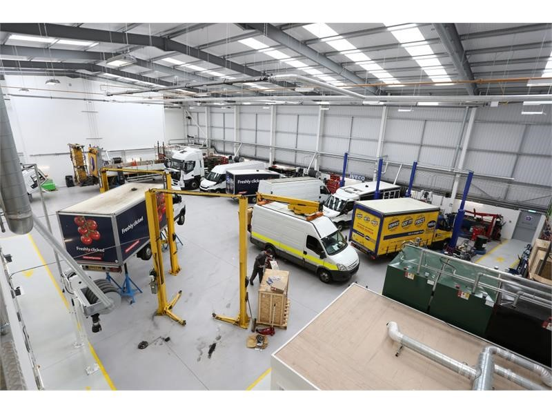 IVECO Retail's Farnborough workshop secures IRTE accreditation