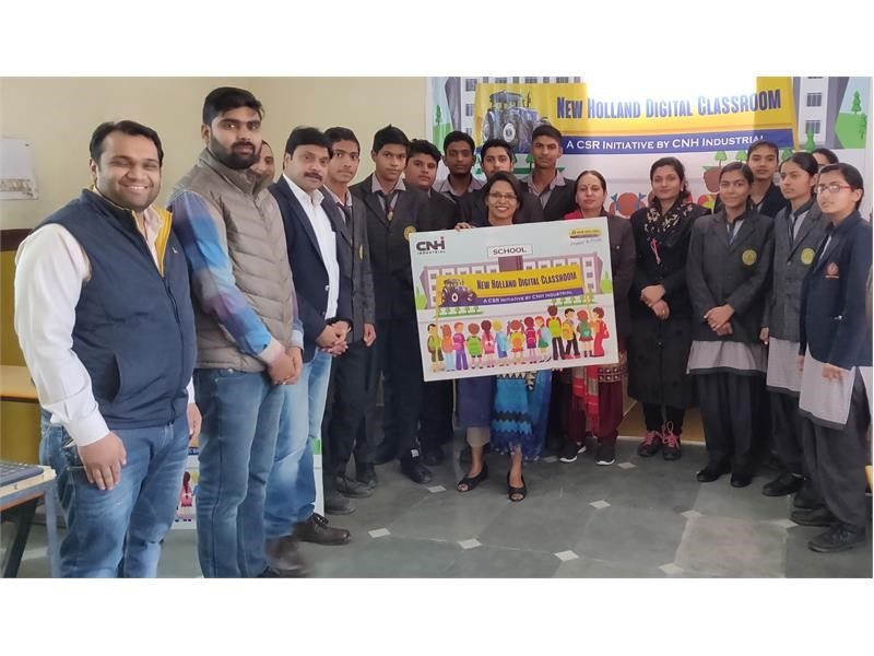 CNH Industrial launches interactive education program across 77 schools in India
