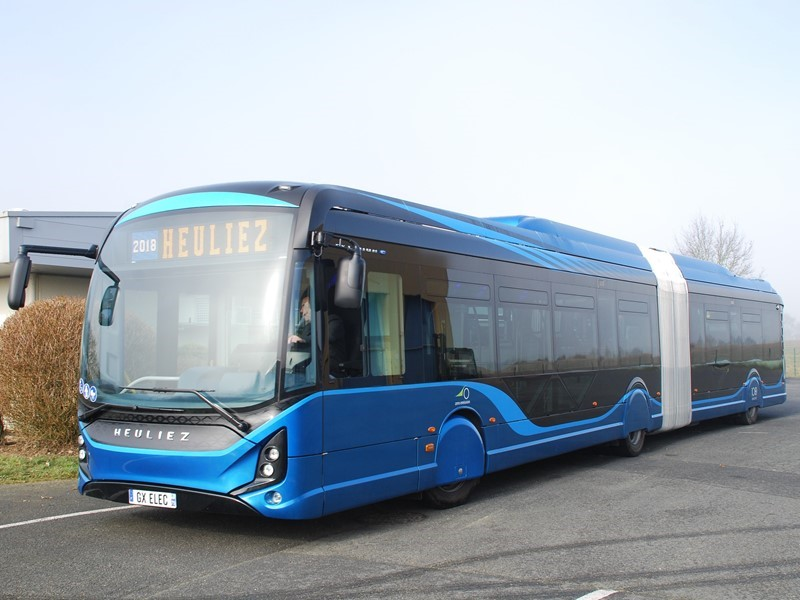 HEULIEZ BUS - receives its largest Electric 18m Citybus orders from QBUZZ