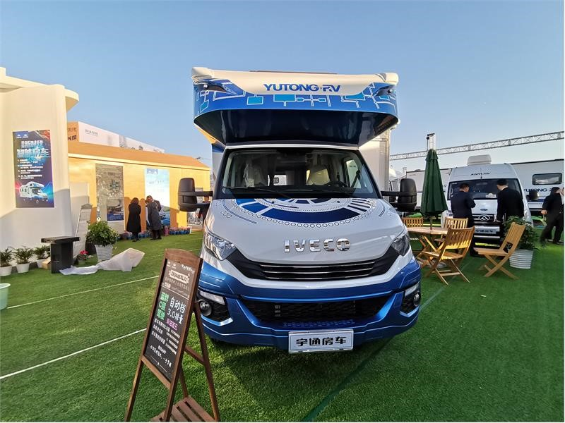 IVECO showcases Daily Recreational Vehicle at the 2019 China Beijing International Recreational Vehicle and Camping Exhibition