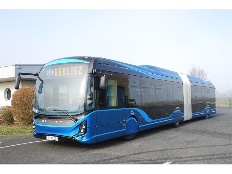 HEULIEZ BUS receives largest order to date for its newly launched electric citybuses