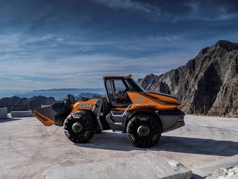 凯斯工程机械发布甲烷动力概念轮式装载机 - TETRA