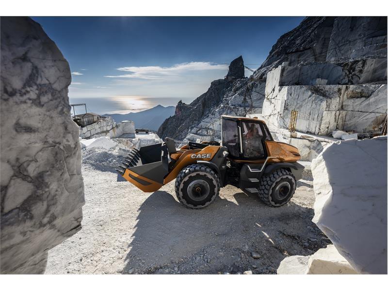 """CASE Construction Equipment представляет свой концептуальный колесный погрузчик с двигателем, работающим на метане - Проект """"Tetra"""", - и свое виден..."""