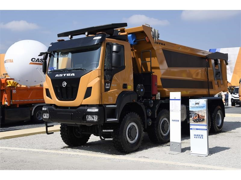 IVECO showcases its wide offer for the construction industry at Bauma 2019