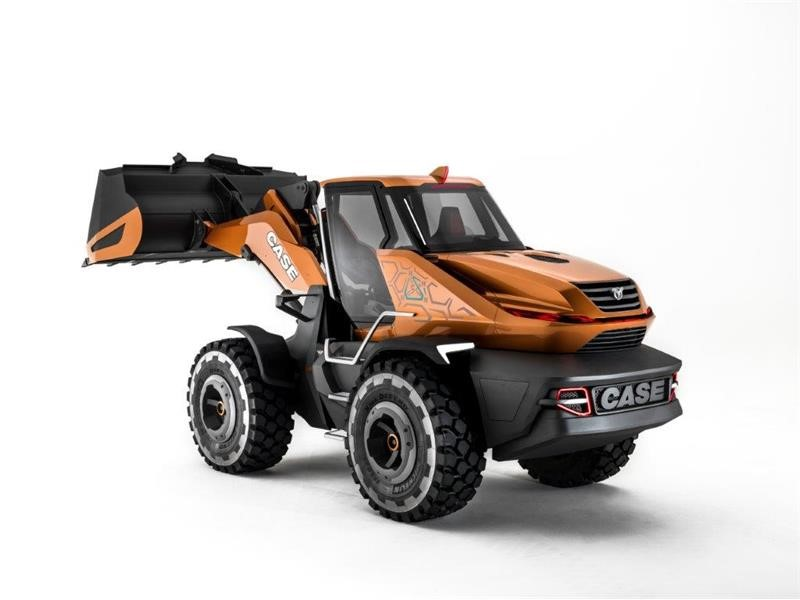 FPT INDUSTRIAL NATURAL GAS ENGINE POWERS NEW CASE METHANE-POWERED WHEEL LOADER CONCEPT – PROJECT TETRA