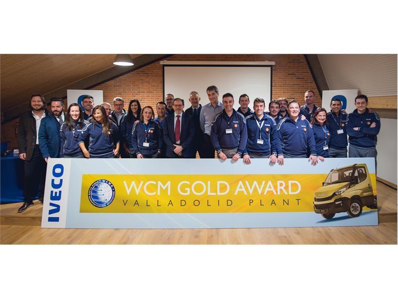 Завод IVECO получил золотой уровень по системе управления «Производство мирового класса»