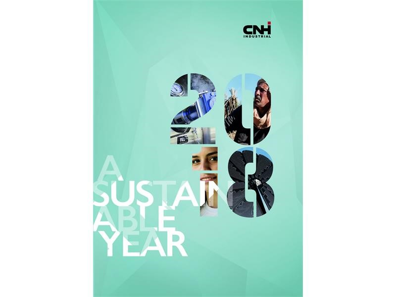 A Sustainable Year: CNH Industrial presents its 2018 highlights