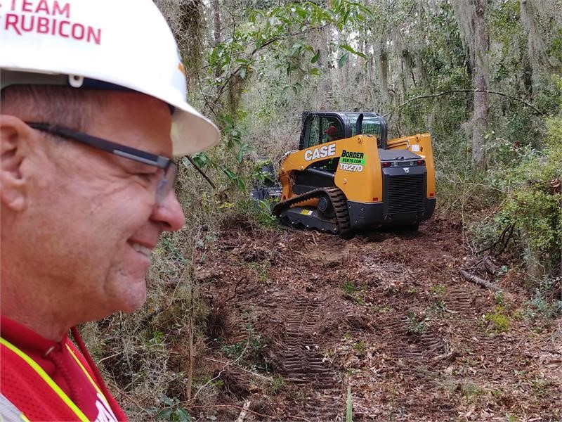 CASE Dealer Border Equipment Provides Two CTLs to Help Team Rubicon with Patriot South National Training Exercise