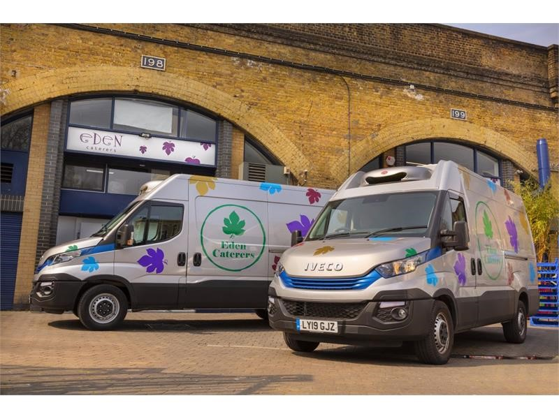 Eden Caterers opts for most advanced diesel vans on the market