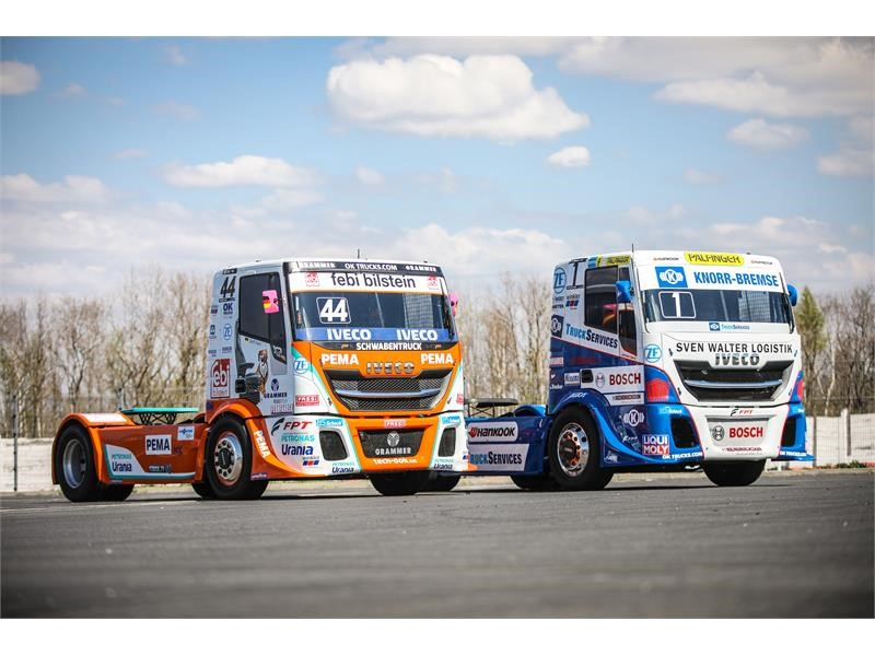 "IVECO partners the FIA European Truck Race Championship 2019 and competes with the ""Die Bullen von IVECO"""