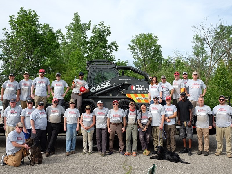 CASE and Southeastern Equipment Support Team Rubicon Disaster Response to EF4 Tornado in Dayton, Ohio