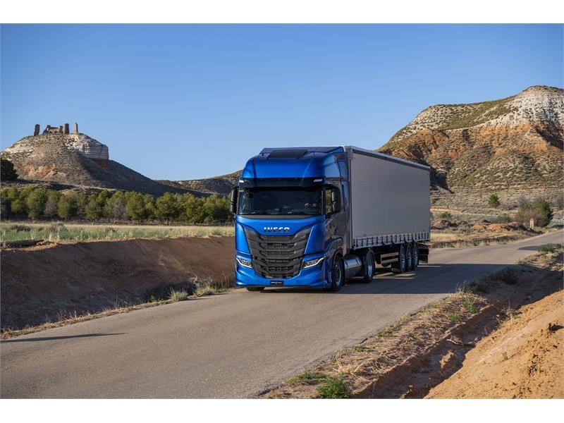 Entirely redesigned IVECO S-WAY cab combines dynamic style with productivity-boosting, TCO-saving design