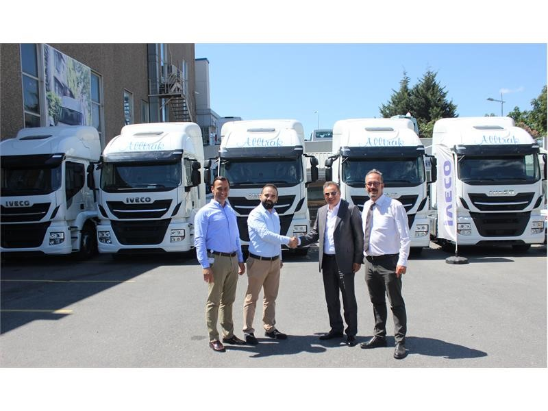 IVECO Delivers five Stralis XP to Alltrak International Transportation