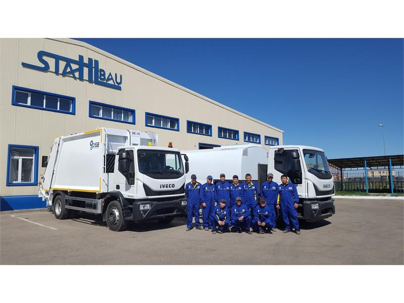 IVECO localizes production of Eurocargo garbage collection truck in Kazakhstan