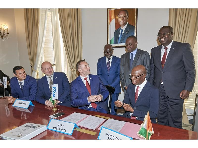IVECO BUS to deliver 250 more buses, including natural gas power solutions, to the Ivory Coast